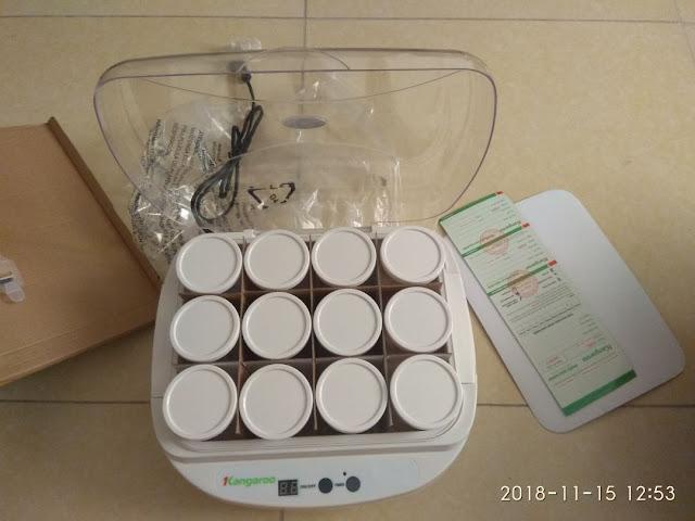 Review, đánh giá máy làm sữa chua Kangaroo KG 82