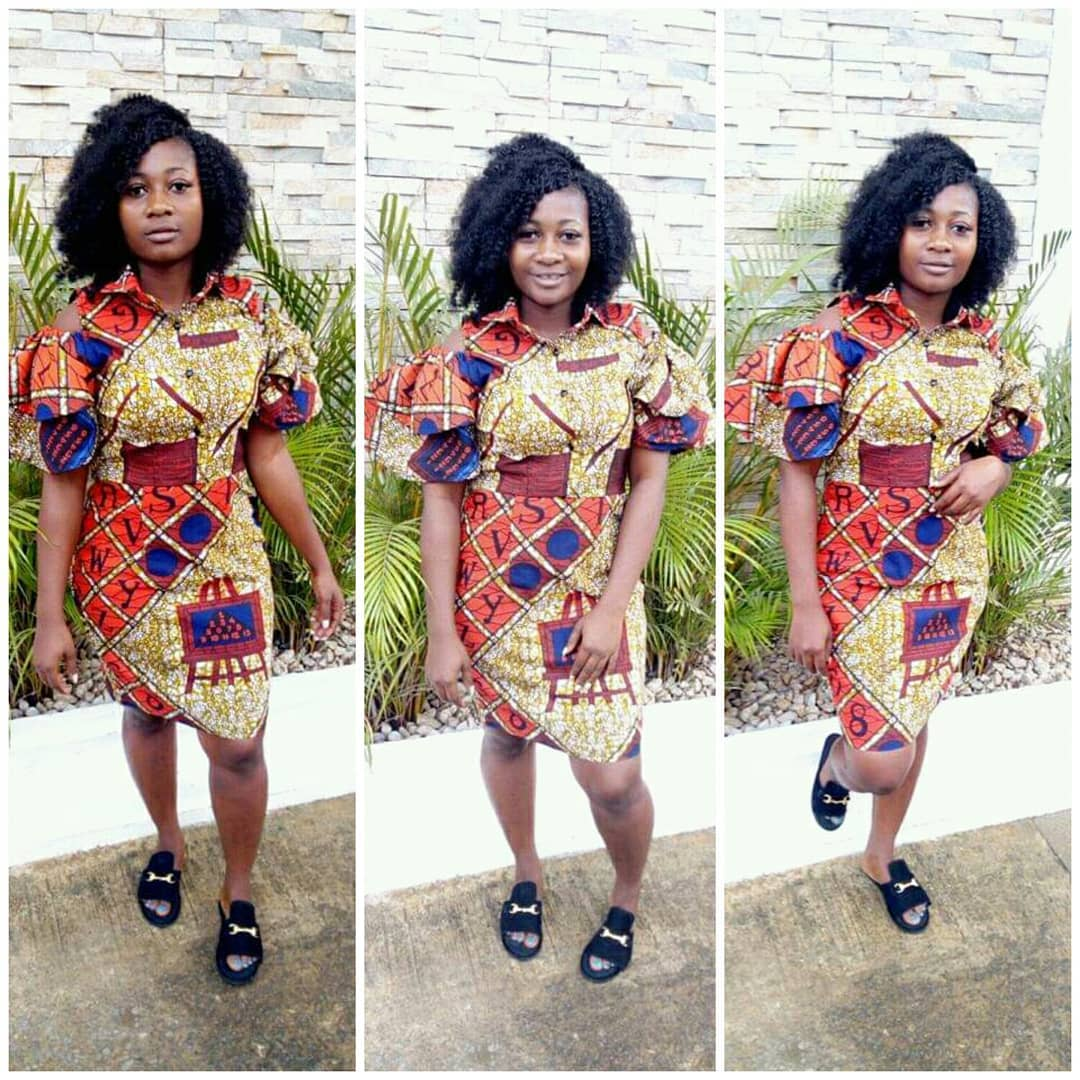 Simple Ankara Short Gown Styles To Rock 2019