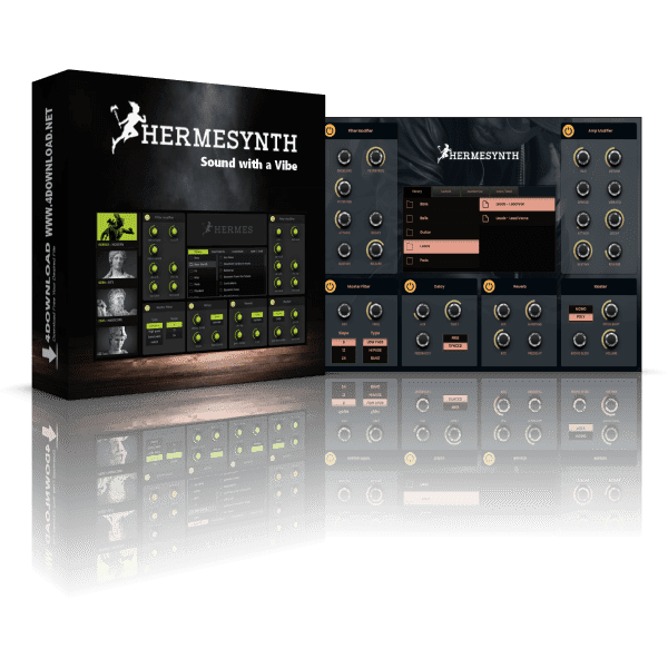 BusyWorksBeats Hermes Synth + Bonuses Full version