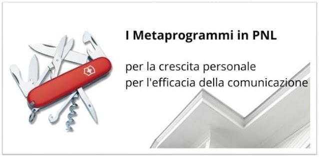 Metaprogrammi in PNL
