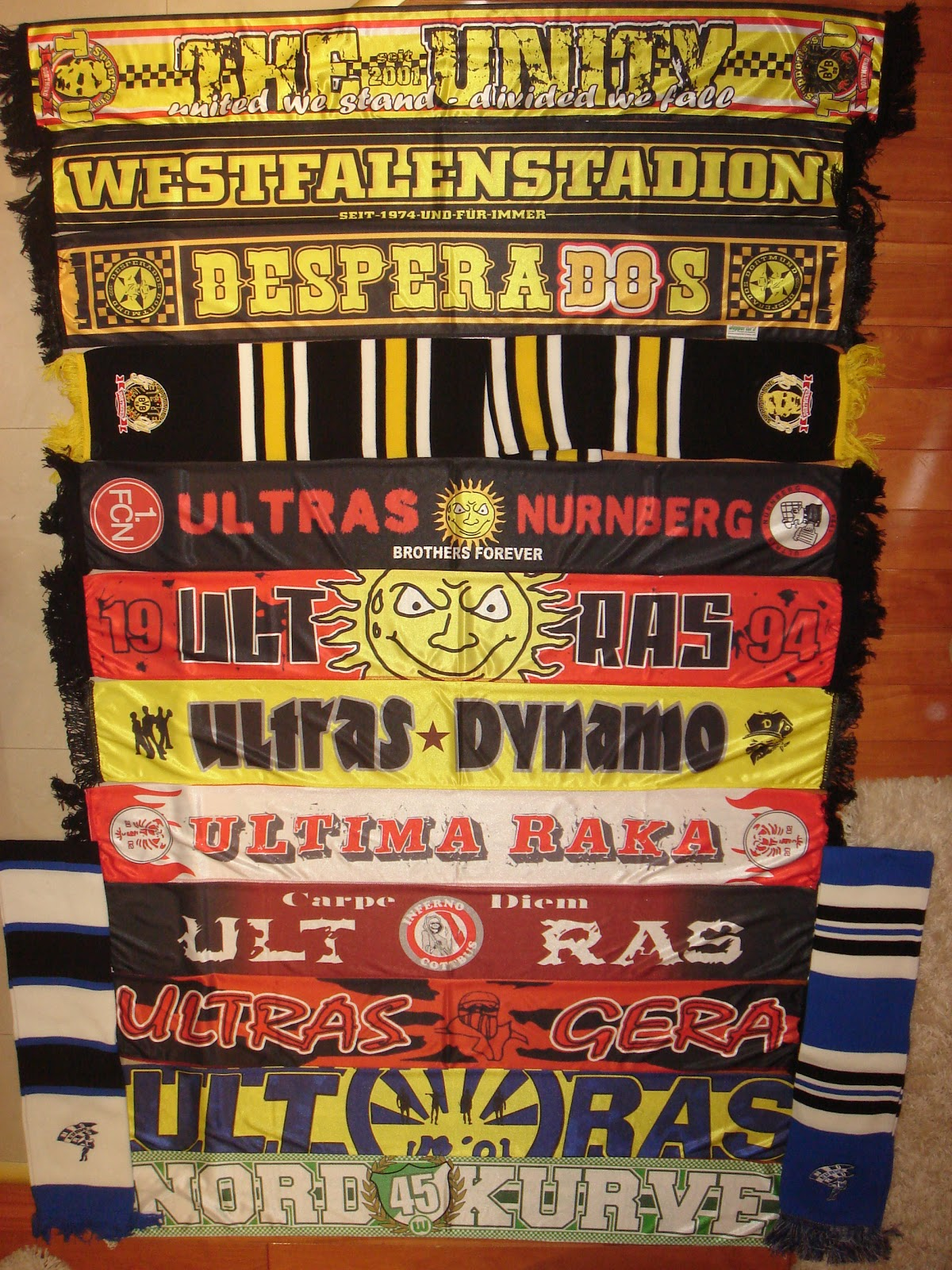 Hans Schals Scarves 1 The Unity Dortmund