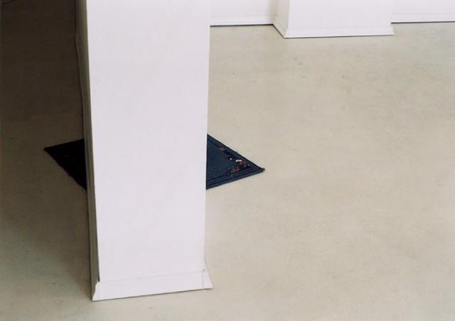 A 2002 design by Sofia, Bulgaria-based Pravdoliub Ivanov.   Confusion,  2002,  installation,