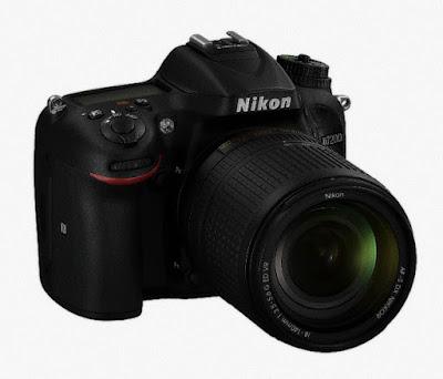 Nikon D7200 DX-format