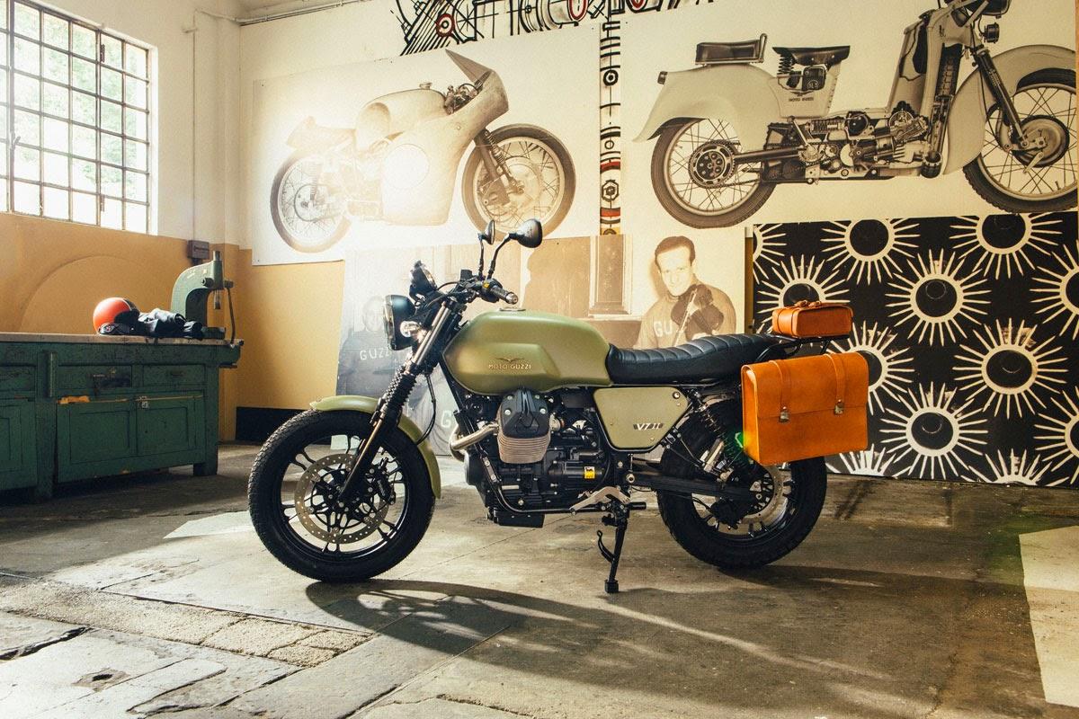 racing caf moto guzzi v7 ii legend kit 2015. Black Bedroom Furniture Sets. Home Design Ideas