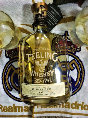 Whiskey Teeling - Irish Whiskey - Güisqui irlandés - Whisky - Supercopa de España - Goleada al Barcelona - Real Madrid - Cardiff - ÁlvaroGP - el troblogdita - el gastrónomo