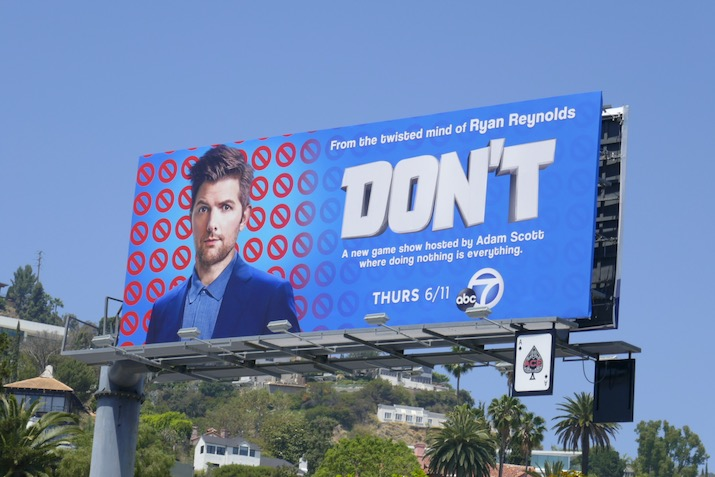 Dont series launch billboard