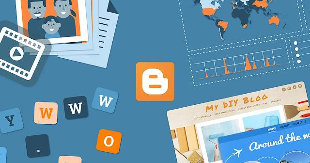 Cara membuat blogspot dengan mudah, blog dan website gratis dari plaform blogging blogger