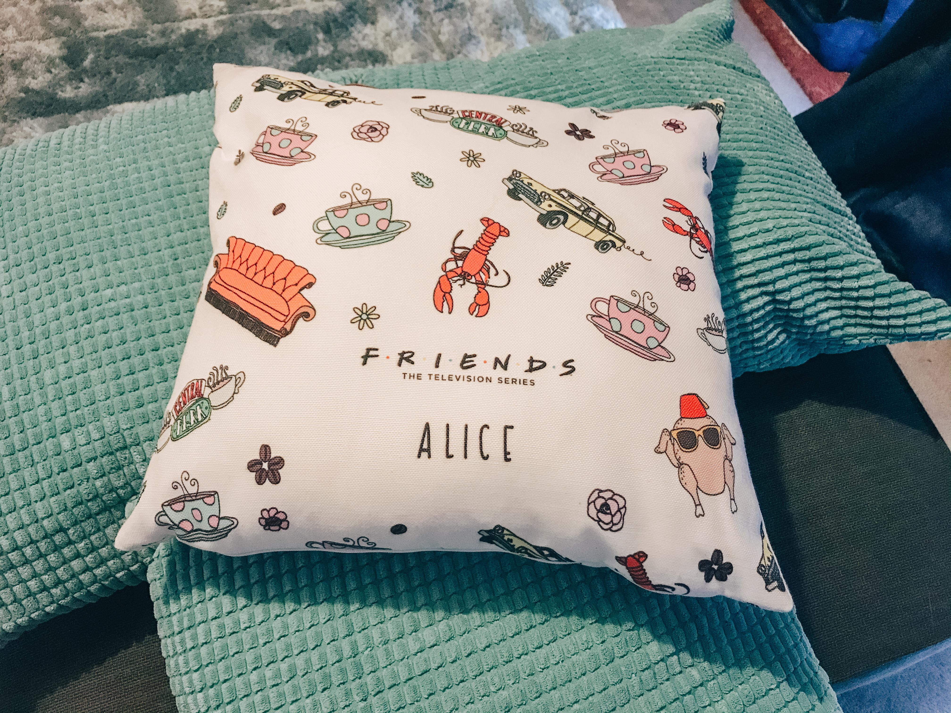 Friends TV Show Cushion