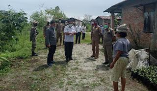 6 Warga Terkonfirmasi, Satgas Covid-19 Dairi Lakukan Penyekatan Dusun Silancang