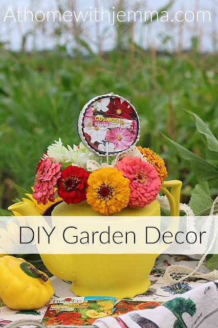 DIY Garden Decor At Home With Jemma