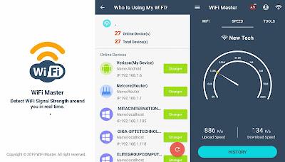 تطبيق WiFi Router Master للتحكم بالراوتر في المنزل النسخة المدفوعة