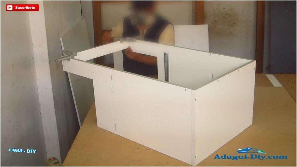 Muebles para la cocina de melamine como hacer pr ctico for M s mobiliario auxiliar para tu cocina s l