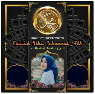 frame twibbon maulid nabi muhammad 1443 h 2021 - kanalmu