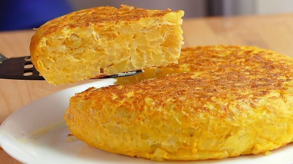 TORTILLA DE PATATAS LIGHT
