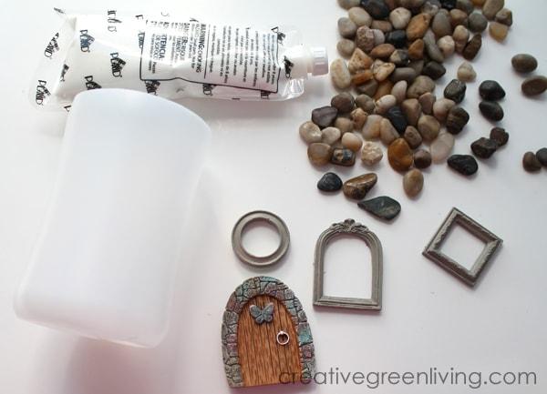 how to make a DIY fairy garden house