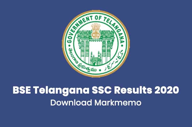 BSE Telangana SSC Results 2020