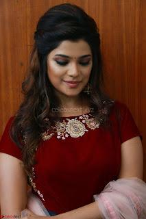 Actress Aathmika in lovely Maraoon Choli ¬  Exclusive Celebrities galleries 098.jpg