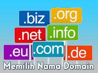 Memilih Nama Domain Sebagai Merek Dagang (Brand)