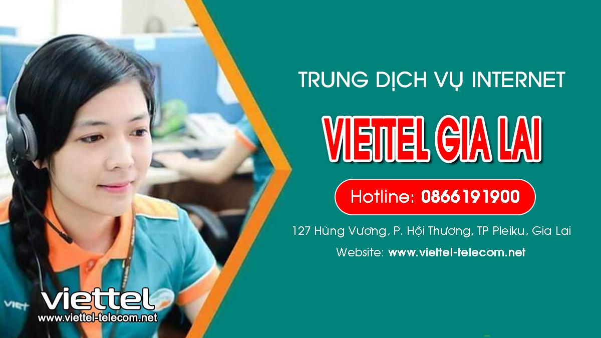 Viettel Gia Lai - Đơn vị lắp mạng Internet và Truyền hình ViettelTV
