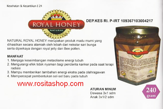 jual harga madu murni royal honey