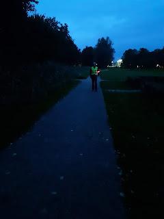 Wandelen in het donker Almere