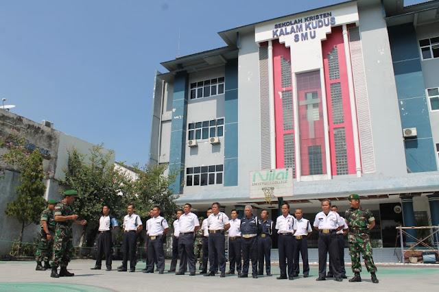 SATPAM SKKK Surakarta Ikuti Pelatihan Bela Negara