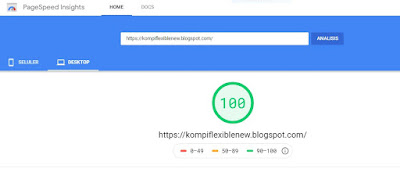 skor-template-kompi-flexible-non-amp-v8-di-pagespeed-insight-versi-dekstop