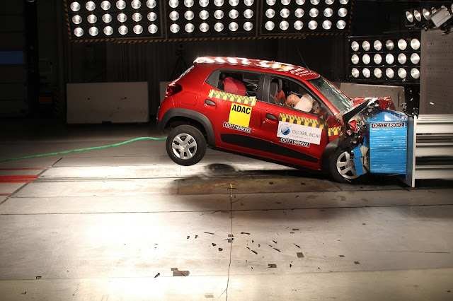 Renault Kwid - crash test