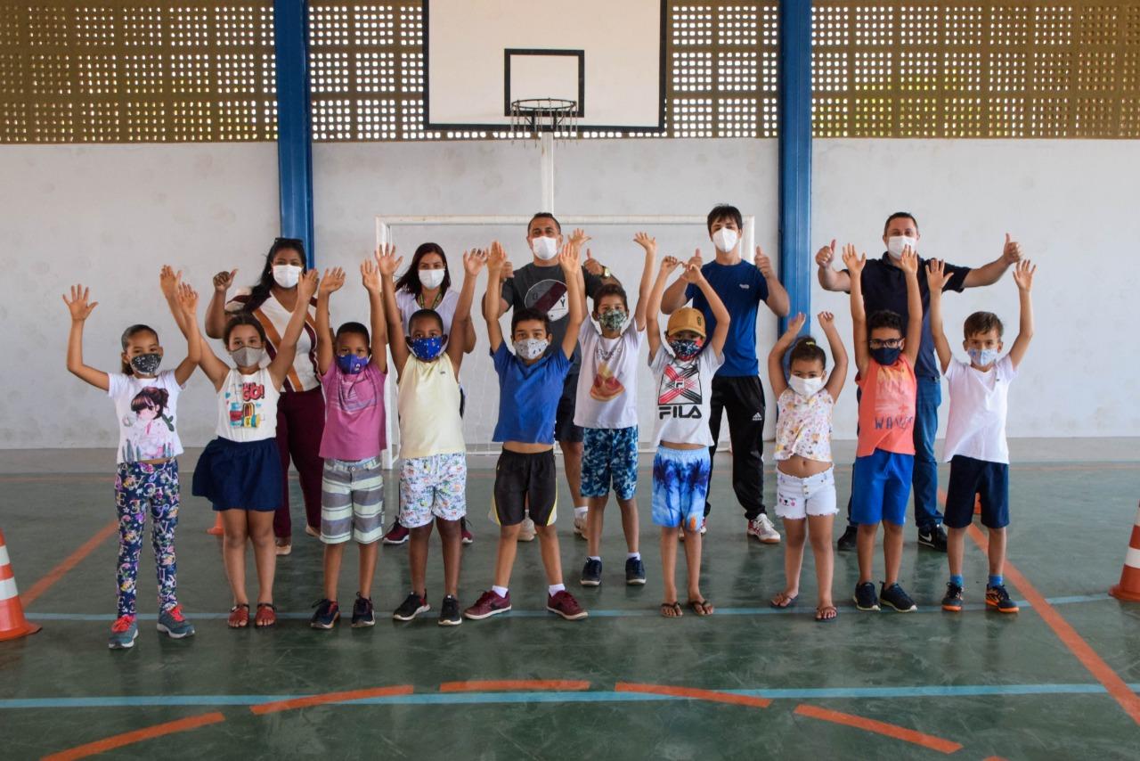 Projeto 'Movimente-se' é lançado em escola municipal de Luís Eduardo Magalhães