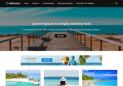 Adventur Blogger Template | wiki Themes galaxy