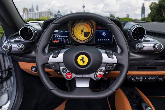 Ferrari F8 Spider 2020 chega ao Brasil em 2020 - detalhes