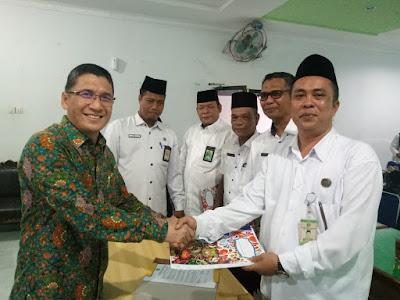Kakankemenag Tanjungbalai Pimpin Rapat Pembubaran Panitia HAB Ke 74