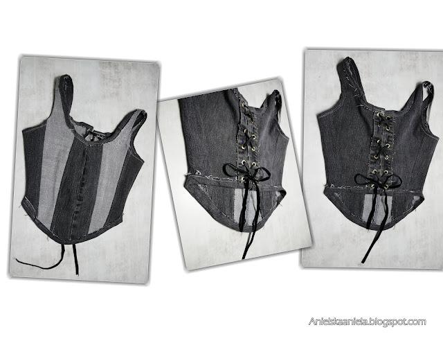diy how to make trendy corset top pattern | jak zrobić wykrój topu gorsetowego