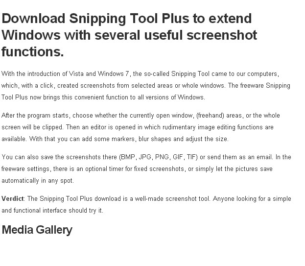 Snipping tool free download.