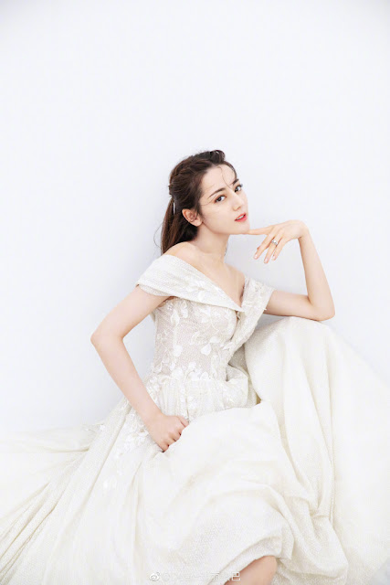 dilraba dilmurat white wedding dress