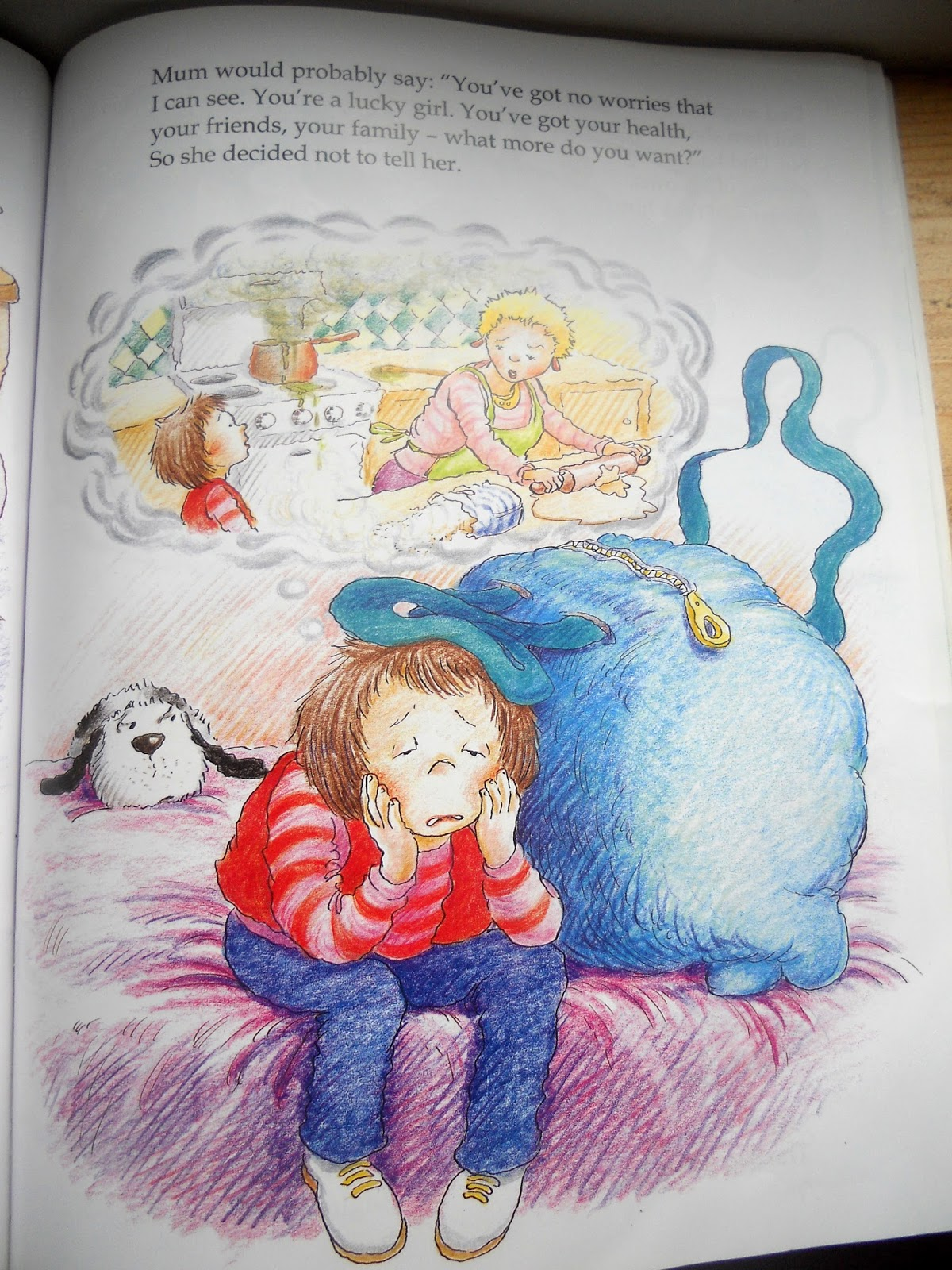 Missus B S Picture Book Reviews The Huge Bag Of Worries