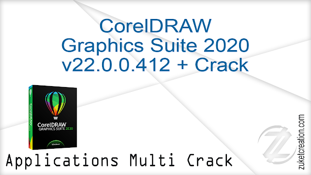 CorelDRAW Graphics Suite 2020 v22.0.0.412 + Crack