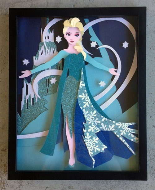 3d Disney Paper Quilling