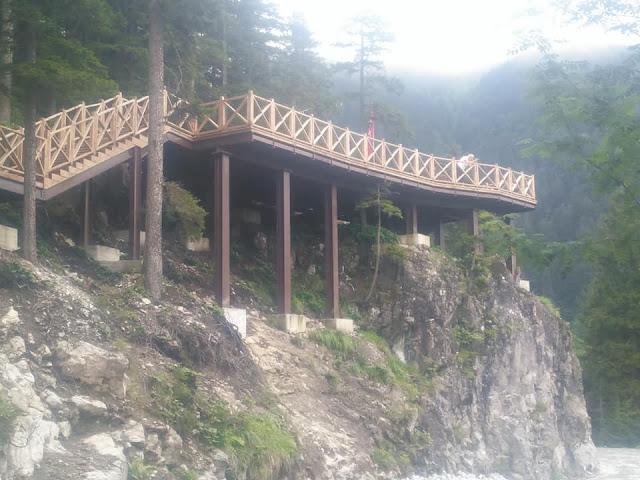 Από νέες θέσεις θα παρατηρούν την Παναγία Σουμελά στον Πόντο οι επισκέπτες
