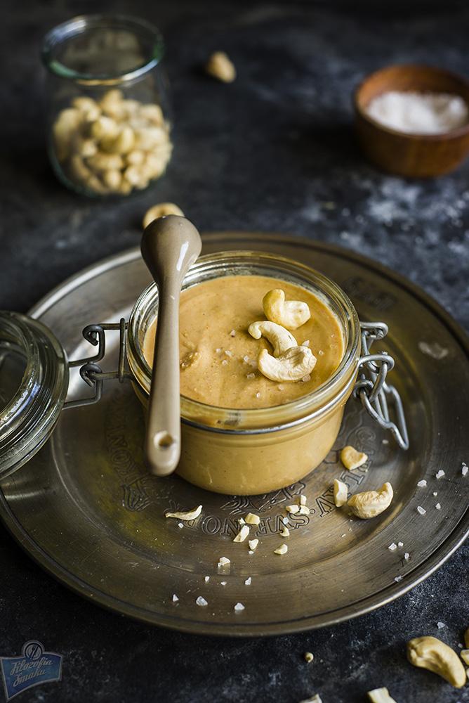 Masło z orzechów nerkowca jak zrobić