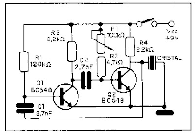 Schematic Diagram: Build an Insect Repellent Wiring