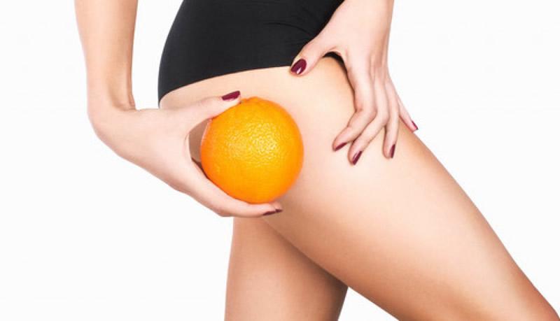 Beat cellulite: orange peel