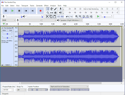 Cara Perbesar Audio File MP3 / WAV / OGG