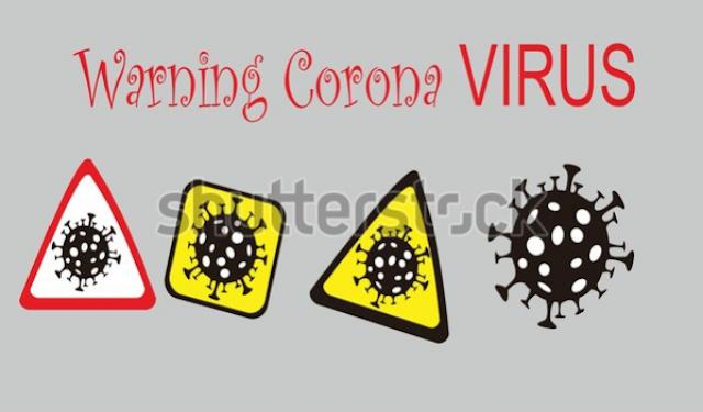illustration graphic design stop novel corona