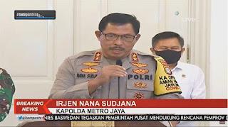 BREAKING NEWS: Kapolda Metro Jaya dan Kapolda Jawa Barat Dicopot Buntut Acara HRS