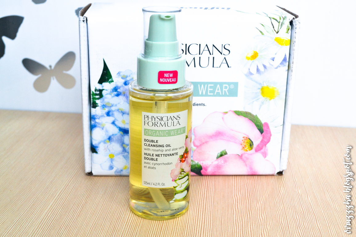 Physicians Formula Organic Wear Double Cleansing Oil Review