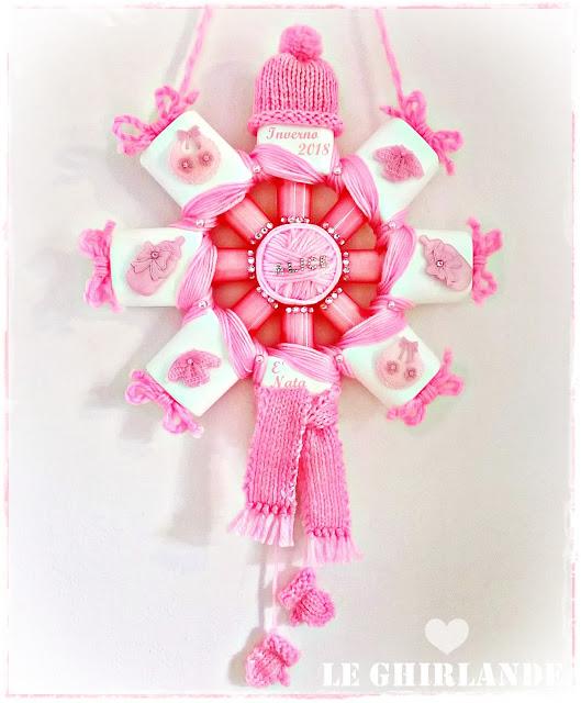 Come fare un fiocco nascita rosa