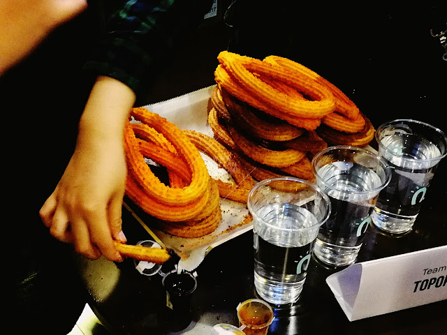 National Churros Eating Championship - Street Churros