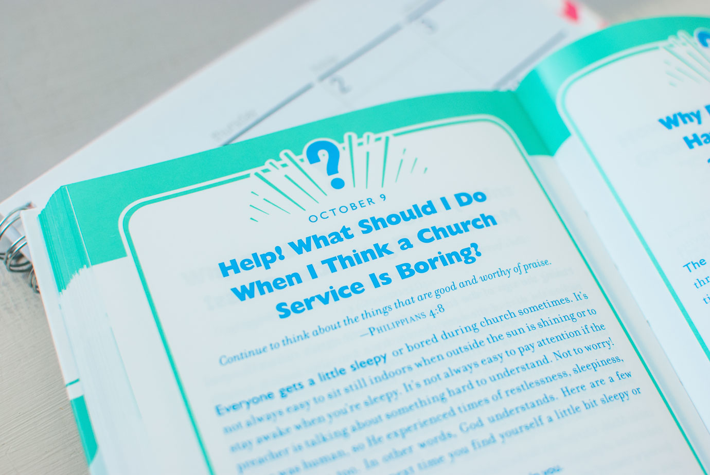 365 Bible Answers For Curious Kids Inside of Book