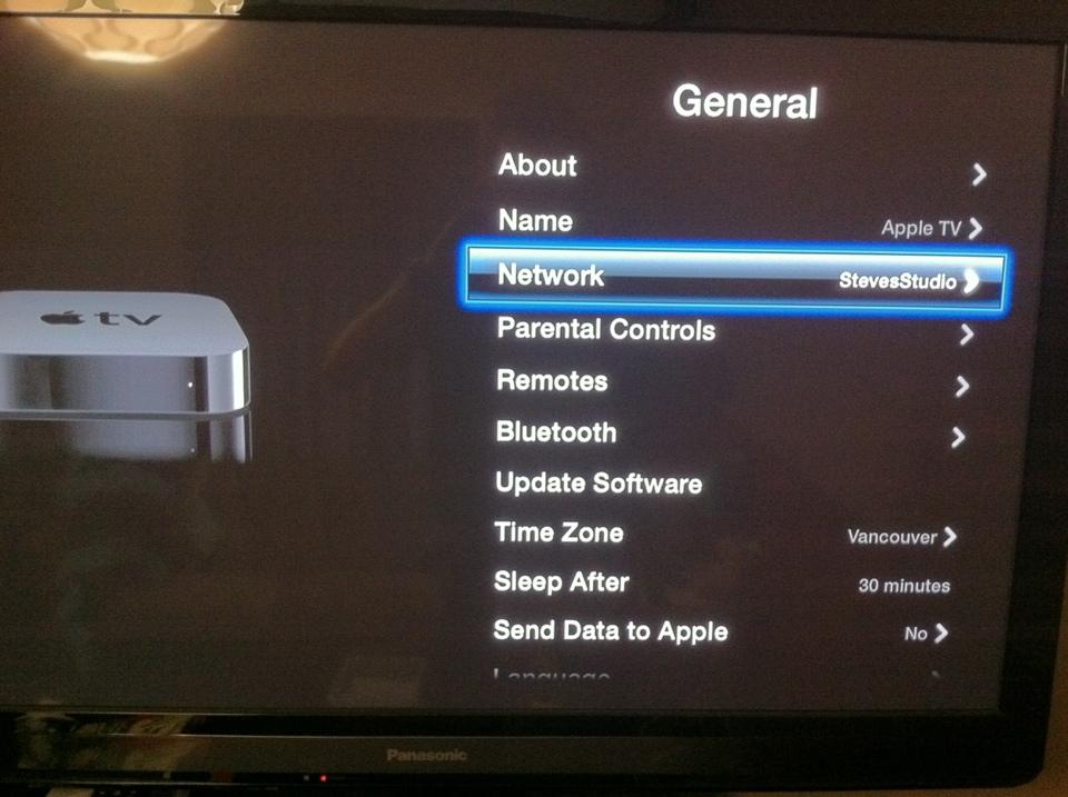 Using Netflix on your Apple TV